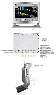 "Axiomtek Launches 12.1"" IP66-rated Stainless Panel PC for Outdoor Information Kiosks & Food Factory - GOT812LR-834"