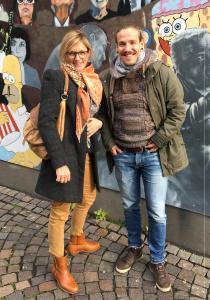 Carsten Witte von Jung & Krebs nahm die Spende in Freiburg entgegen / © United Planet GmbH
