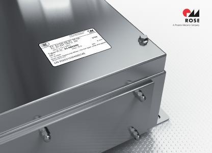 Ex-geschützte Gehäuse und Control Stations von ROSE besitzen ab sofort die chinesische CCC-Zertifizierung für den Explosionsschutz / Bild: ROSE Systemtechnik GmbH
