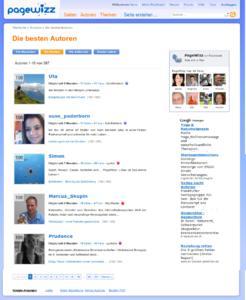 Autoren von PageWizz