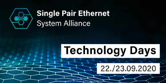 Am 22. und 23. September lädt die SPE System Alliance zu einem internationalen digitalen Wissensaustausch zu Single Pair Ethernet ein