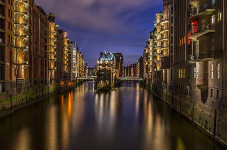 Hamburg- Flair einer Weltstadt