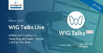 Workflow Innovation Group (WIG) to host WIG Talks Live on May 26