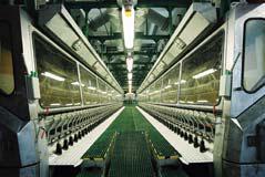 Die Faserproduktion mit modernster umweltschonender Technologie ist das Kerngeschäft der Lenzing AG, Foto: Lenzing AG