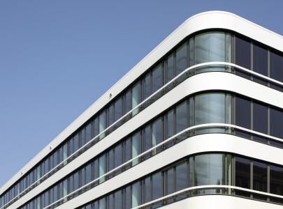 Pilkington Suncool™ 70/40 Bürohaus NEWTON, München Foto: Oliver Heissner