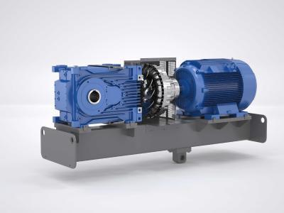 Die 2-stufigen Kegelstirnradgetriebe MAXXDRIVE® XT wurden speziell für Anwendungen optimiert, in denen geringe Übersetzungen in Kombination mit hohen Leistungen gefragt sind Bild: NORD DRIVESYSTEMS
