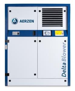 The new Delta Blower G5plus positive displacement blowers made by AERZEN achieve a higher energy efficiency of up to 5 % with even more flexibility and optimised design
