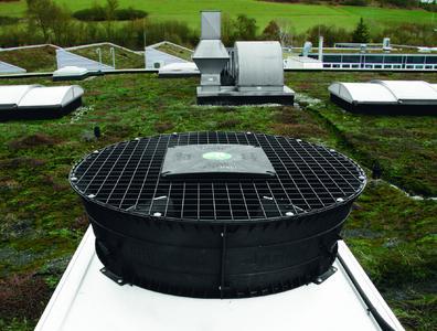 Der AxiTop® im Einsatz auf einem Wärmetauscher