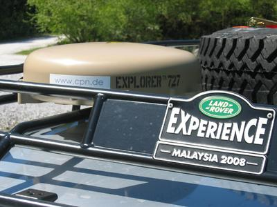 Land Rover Experience, Explorer® 727