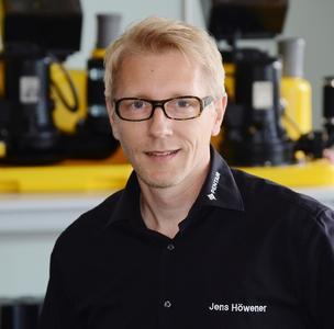 Jens Höwener ist seit dem 1. Juni 2014 im Forum als Technischer Trainer tätig. Foto: Pentair Jung Pumpen, Steinhagen