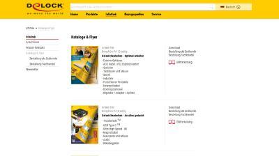 Startseite Katalog Flyer bestellen