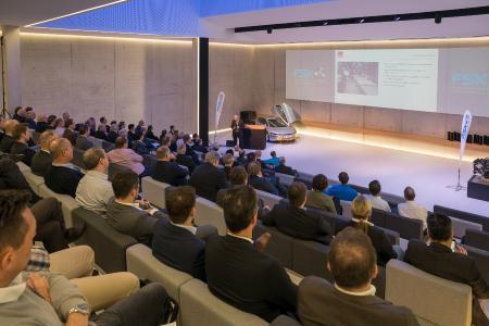 FSK Specialist Conference Polyurethane 2017 at the Future Dome of Fill GmbH in Gurten Upper Austria.