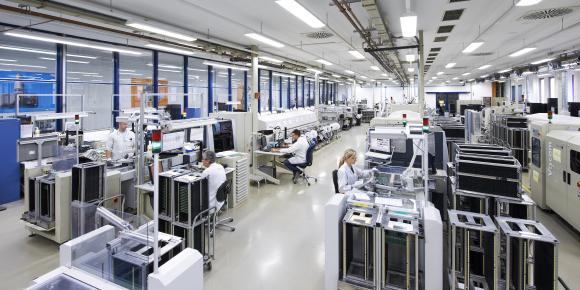 Ein Blick in die RDKS-Fertigung von Huf Electronics Bretten