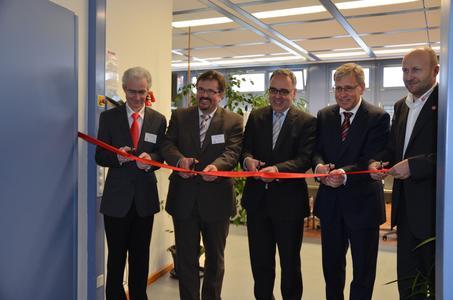 Von links nach rechts: Thomas Hug, Jochen Lindner, Klaus Michael Rückert, Alain Reynvoet, Martin Dreher