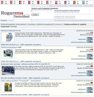 Screenshot Rogarema_Marktplatz Gruppen