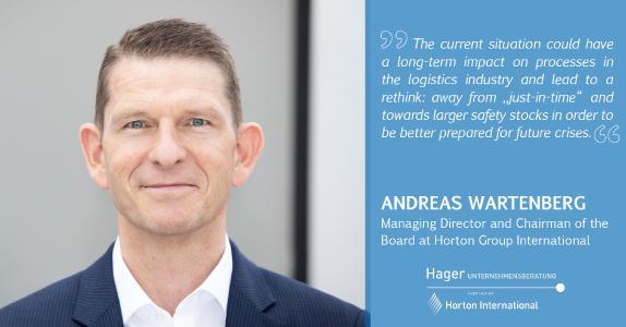 Andreas Wartenberg Managing Director at Hager Unternehmensberatung and Chairman of the Board at Horton International