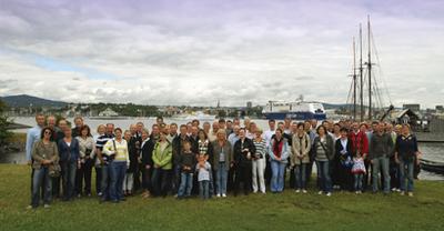 Der Flachglas MarkenKreis lud die Teilnehmer des Gesamttreffens 2008 auf eine Kreuzfahrt nach Oslo