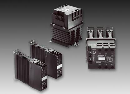 Power Solid-State Relays from Weidmüller: New single- and three-phase PSSR modules designed for reliable long-term load switching