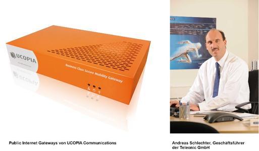 UCOPIA Communications ist neuer Partner von Telonic