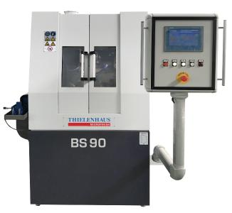 With the BearingStar 90, Thielenhaus Microfinish has brought a high performance machine onto the market, which can be used with distinctively quick cycle and set up times, both for economic mass production of ball bearing rings, as well as for flexible production on a small and medium scale.