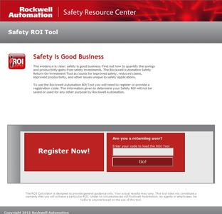 Safety ROI Tool