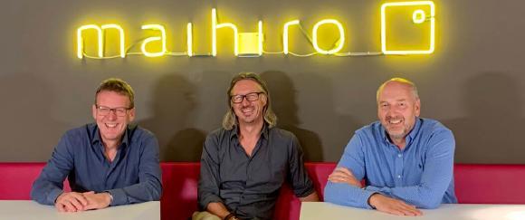 Das maihiro-Geschäftsführungsteam (v.l.n.r.): Bernd Hesse, Mark Roes und Uwe May. Foto: maihiro GmbH.