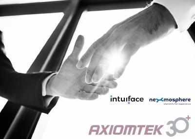 Kooperation Axiomtek mit Nexmosphere und Intuiface