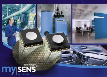 mySENS® - Micronas gelingt entscheidender Durchbruch in der Gas-Sensorik bei Einsatz von Standard-CMOS
