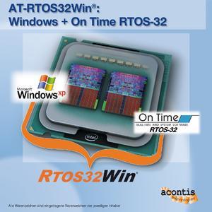 AT-RTOS32Win: Windows + On Time RTOS-32