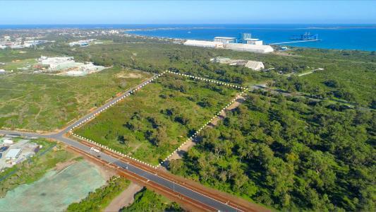 Standort der geplanten Anlage in Kwinana, Western Australia; Foto: EcoGraf Ltd.
