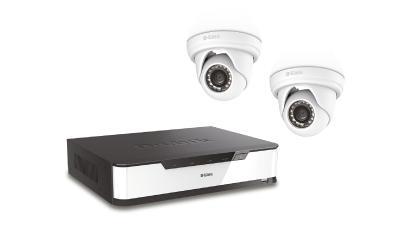 D-Link PoE Vigilance Full HD Video Recorder Starter Kit DNR16-4802-2