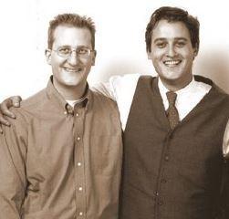 Die Gründer-Brüder  Mark Winkelmann und Boris Winkelmann v.l.