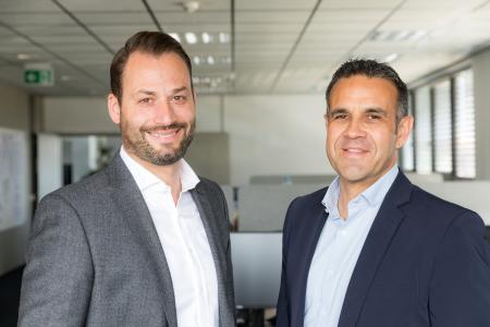 Björn Orth, Geschäftsführer VENDOSOFT, und Andrea Migoni, Italien-Repräsentant VENDOSOFT (v.l.n.r.)