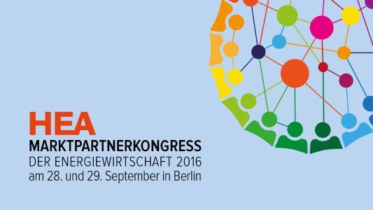 HEA-Marktpartnerkongress der Energiewirtschaft 2016