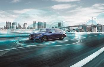 Honda Legend Hybrid EX mit Technologie nach Level 3