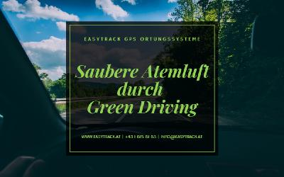 Saubere Atemluft durch Green Driving
