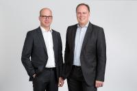 Das Führungsduo von CRMFIRST: Thorsten Bleifeld, CTO (li.), Thorsten Thiede, CEO (re.)