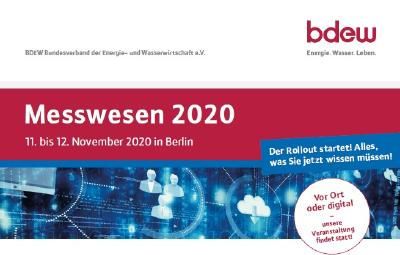 Messwesen 2020, 11.-12. November 2020 in Berlin