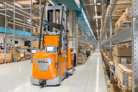 Ohne Hürden zu automatisierten Prozessen - STILL begleitet Unternehmen als Partner mit langjähriger Expertise und hoher Beratungskompetenz auf ihrem Weg zu effizienten, optimierten Logistikprozessen / Foto: STILL GmbH