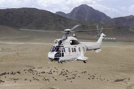 AS332 copyright Airbus Helicopters