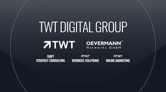 Die TWT Digital Group bündelt die Expertise von TWT Interactive, OEVERMANN Networks, SHIFT Strategy Consulting, TWT Business Solutions und TWT Online Marketing