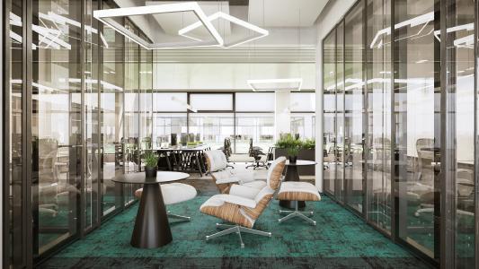 Moderne Büros im neuen Werk in Litauen / © Continental AG