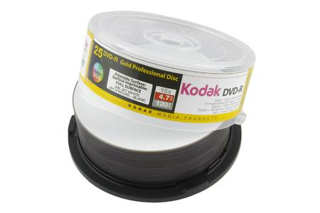 Neu: Kodak Professional Gold CDs und DVDs bedruckbar