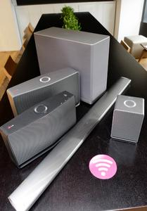 Smart und drahtlos - das Erlebnis fließender Klänge mit LGs neuem Hi-Fi Audio Multi Room-System