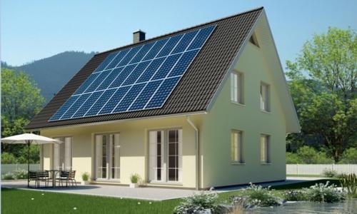Ausgestattet mit KfW 60 Dämmpaket, Erdwärmesystem und Photovoltaikanlage produziert dieses Haus mehr Energie, als es für Heizen und Warmwasserbereitung benötigt. Preis ab 156.900 Euro