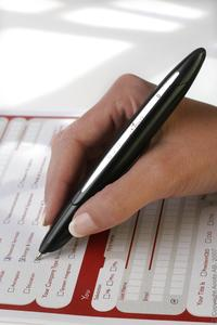 Effiziente Erfassung handschriftlicher Informationen mittels digitaler Stifte und gerastertem Papier von Anoto