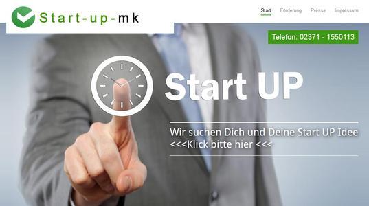 Förderung von Start Up Unternehmen