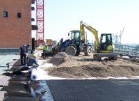 Tiefgaragendecken wie an der Elbphilharmonie in Hamburg benötigen Bautenschutz, damit sie mit schweren Fahrzeugen befahren werden können.