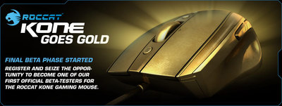 ROCCAT™ Kone Goes Gold
