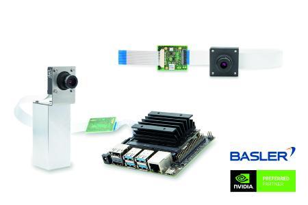 Embedded Vision Development Kit und zwei Add-on Camera Kits auf Basis der NVIDIA® Jetson™ Plattform